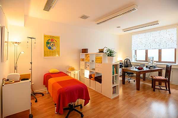 Naturheilpraxis in Köln, Behandlungsraum